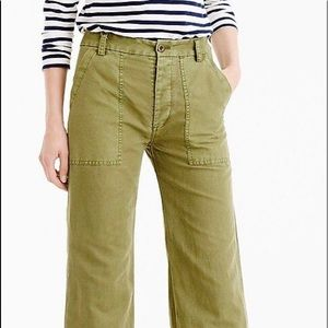 JCrew Wide Leg Linen Pants